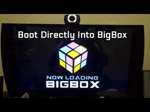 Boot Directly Into BigBox (Tutorial)