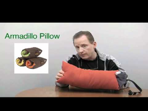 Product Review Armadillo Pillow