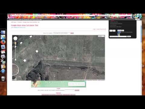 Google Land Area Calculator Tool