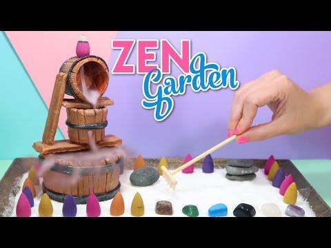 How To Make A Miniature Zen Garden -  DIY Stress Desk Decoration
