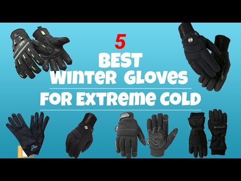 Best 5 Winter Gloves for Extreme Cold in 2018