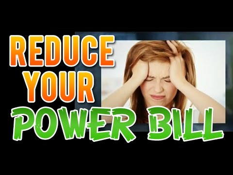 Average electric bill cost and how to save electricity!