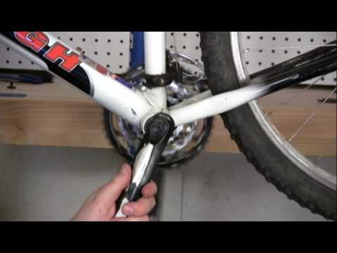 Installing a Bicycle Crank Arm