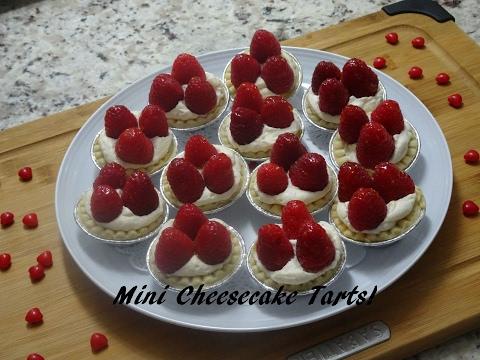 Mini Cheesecake Tarts -Recipe- | Ep #16