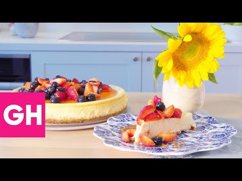 How to Make the Perfect Cheesecake   Test Kitchen Secrets   GH