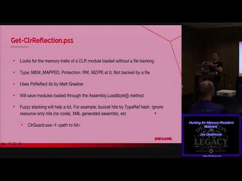 S21 Hunting for Memory Resident Malware Joe Desimone