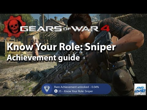 Know Your Role: Sniper Achievement Guide