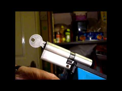 How To Remove A Snapped Key From A 6 Pin Euro Cylinder Lock www.uklocksport.co.uk