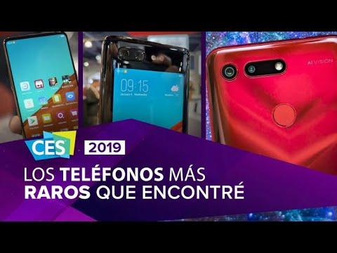 Los celulares más locos de CES 2019