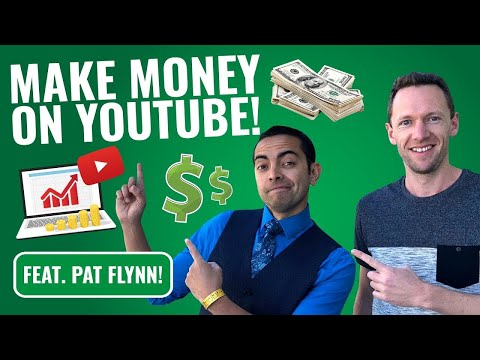 How to Make Money with YouTube (feat. Pat Flynn, Smart Passive Income!)