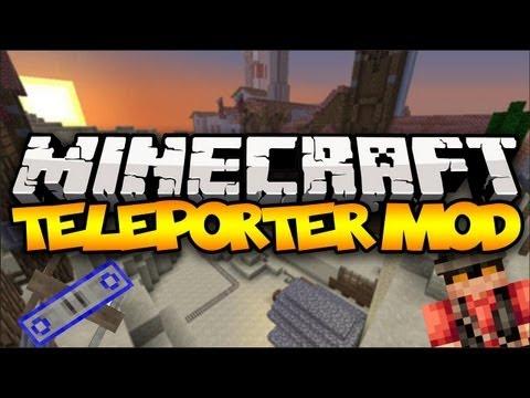 Minecraft: TELEPORTING! (TF2 Teleporter) | Mod Showcase