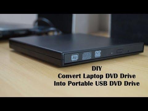DIY   Convert Laptop DVD Drive Into USB External DVD Drive [Hindi-हिंदी]