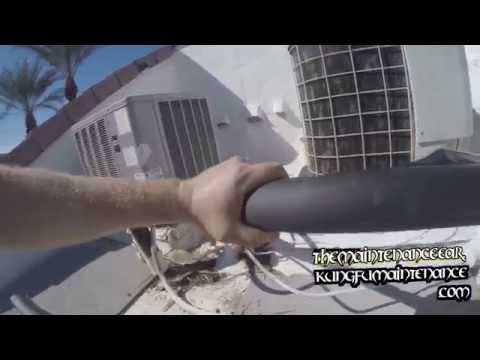 How To Add Insulation To Outside Air Conditioning Suction Lines To Save Money Plus Energy Video