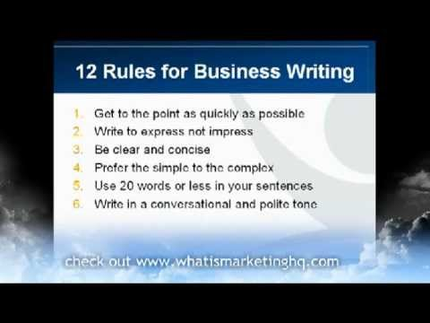 12 Business Writing Tips for Effective Business Emails and Letters