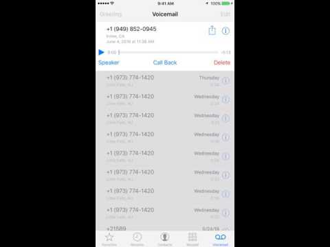 How to Save Voicemail on iPhone