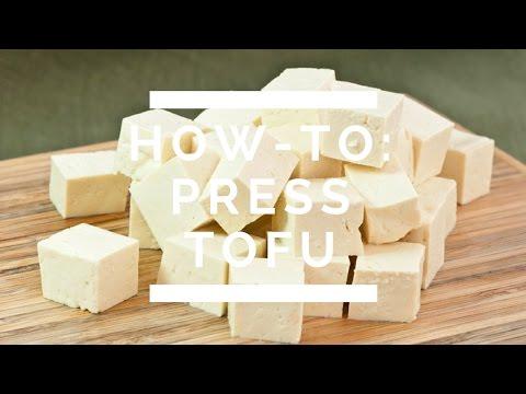 How-To: Press Tofu