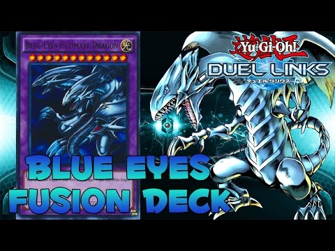 BLUE-EYES ULTIMATE DRAGON DECK! Yu-Gi-Oh! Duel Links Fusion Deck Profile