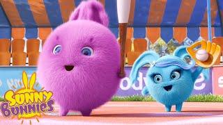 SUNNY BUNNIES - Bunnies Baseball   Season 2   Cartoons for Children
