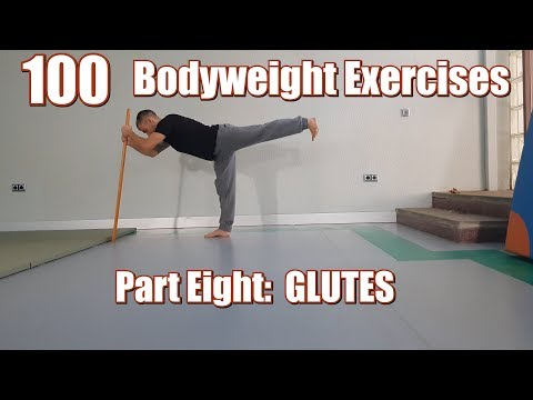 100 BODYWEIGHT EXERCISES (NO GYM REQUIRED) | GLUTES