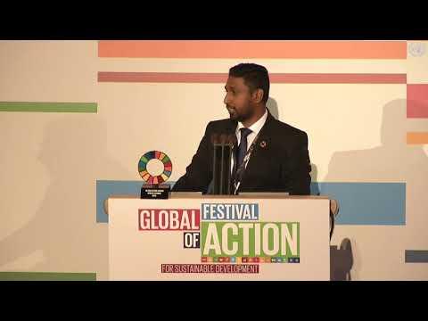 UN SDG Action Award 2018 - UN Global Festival of Action, Bonn, Germany.