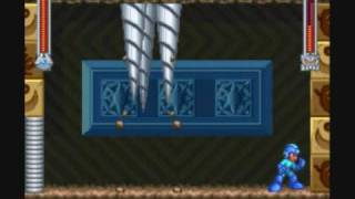 Mega Man & Bass - Ground Man Perfect Run