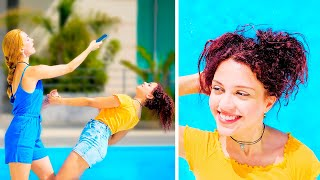 FUNNY AND CREATIVE IDEAS FOR PHOTOS || Instagram Photo and Video Hacks by 123 GO!