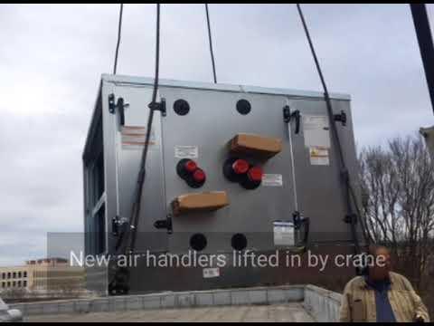 medical examiners office HVAC upgrades