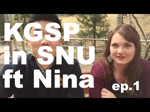 How did you come to Korea on full scholarship? (KGSP in SNU ft.Nina Part.1)