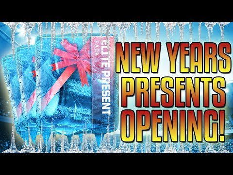 OPENING MY NEW YEARS PRESENTS!-Madden Mobile 18