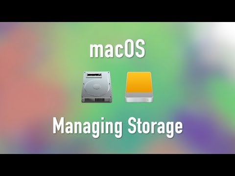 macOS: Analyzing and Managing Storage