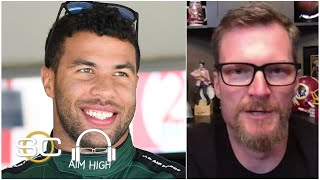 Dale Earnhardt Jr.: Bubba Wallace carries a heavy load for NASCAR | SC with SVP