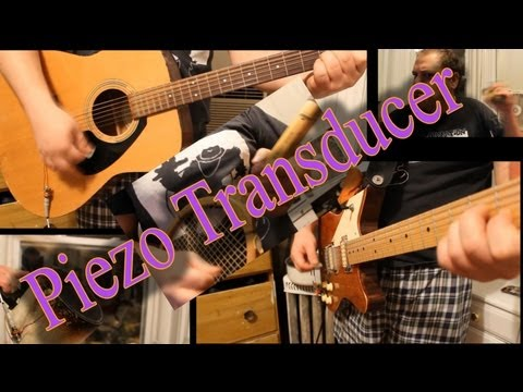 Piezo Transducer - the 5$ five minute DIY acoustic pickup
