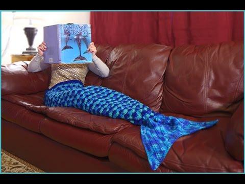 How to Crochet an Adult Mermaid Afghan