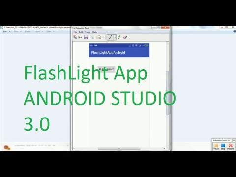 How to Create FlashLight App in Android Studio 3 .0