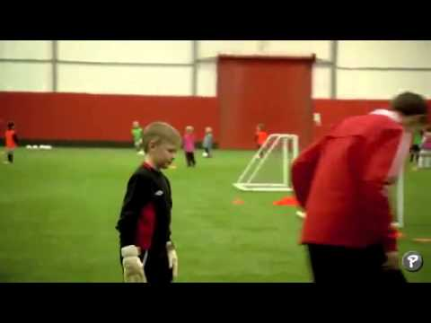 Soccer Coaching Dribbling Drill  Skills Corridor