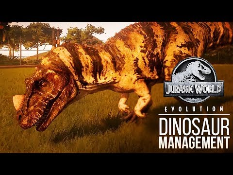 HOW DO YOU KEEP A DINOSAUR HAPPY? | Jurassic World: Evolution Gameplay Analysis