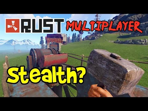 Stealth!? RUST Gameplay Ep 1-9 Multiplayer Coop (Funny Moments)