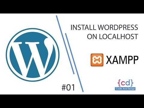 Install WordPress on localhost - xampp Step By Step | WordPress for Beginners | #1
