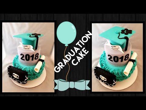 Graduation cake/pastel de graduacion decoracion👩🎓👩🎓👩🎓
