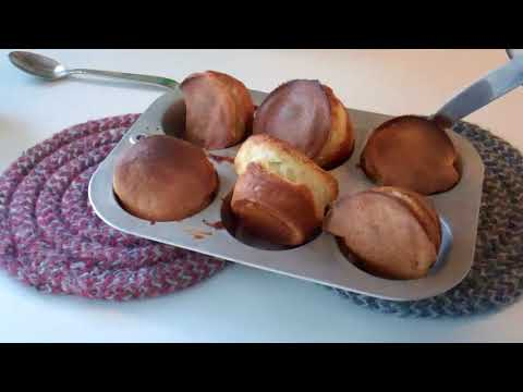 Popovers baked in the toaster oven