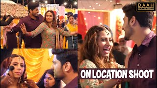 """Surkhi Bindi"" On Location Shoot | Sargun Mehta, Gurnam Bhullar | DAAH Films"