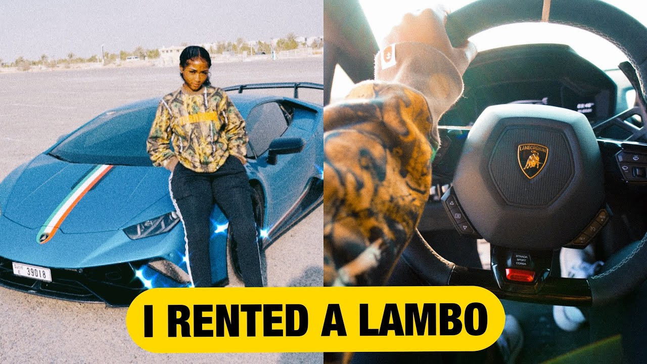 I RENTED A LAMBORGHINI IN DUBAI
