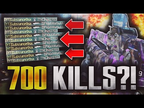 Black Ops 3: 700 KILL CHALLENGE ATTEMPT!! (Black Ops 3 Gameplay)