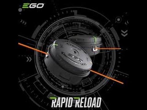 EGO Trimmer Head Loading
