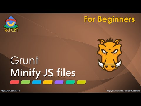 Grunt JS: How to minify (or uglify) JavaScript files