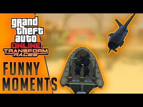 GTA Online | Transform Races Funny Moments #1