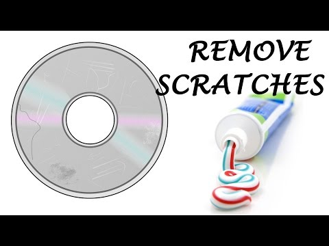 How to Remove Scratches from a CD