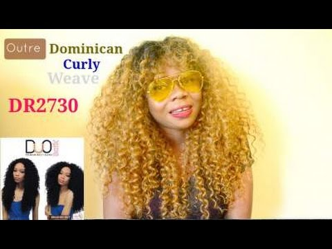 Watch Me Make & Slay Outre Duo Dominican Curly Weave DR2730