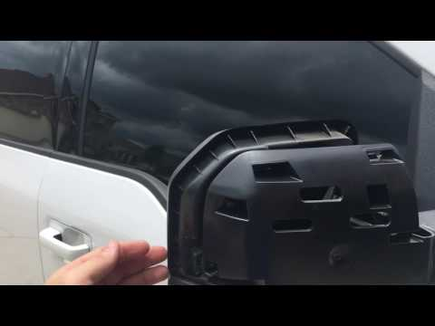 How to remove 2015-2017 f150 mirror caps