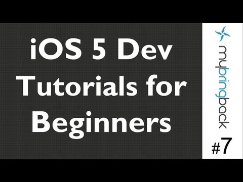 Learn Xcode 4.2 Tutorial iOS iPad iPhone 1.7 Change Title and Image